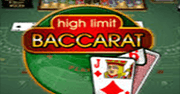 High Limit Baccarat